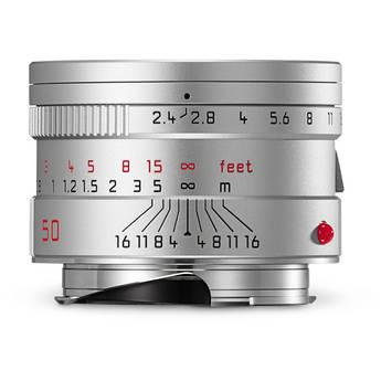 Leica Summarit-M 50mm f/2.4 Lens (Silver)