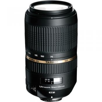 Tamron SP 70-300mm f/4-5.6 Di VC USD Telephoto Zoom Lens for Nikon Digital SLRs & 35mm Film Cameras