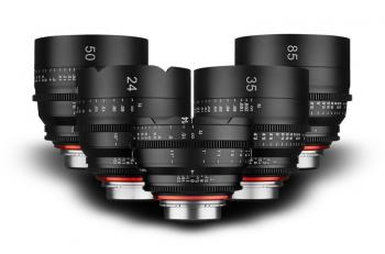 XEEN PRO SET Lens for Sony E (NEX) 14,24,35,50, 85mm T1.5 Lenses