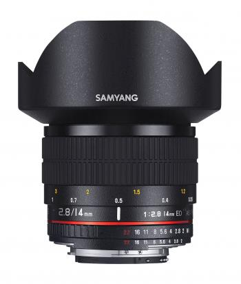 SAMYANG 14mm f / 2.8 IF ED UMC Wide-angle Lens - for Canon