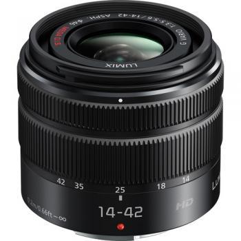 Panasonic Lumix G Vario 14-42mm f/3.5-5.6 II ASPH. MEGA O.I.S. Lens