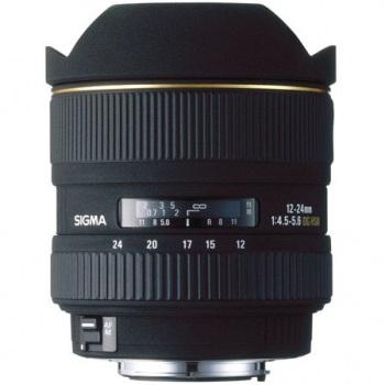 Sigma 12-24mm f/4.5-5.6 EX DG Aspherical HSM II Wide Angle Autofocus Zoom for Nikon AF