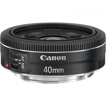 Canon EF 40mm f/2.8 STM Lens (Black)