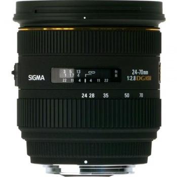 Sigma 24-70mm f/2.8 IF EX DG HSM Autofocus Lens for Sony AF