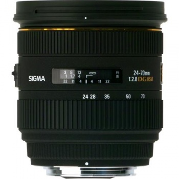 Sigma 24-70mm f/2.8 IF EX DG HSM Autofocus Lens for Pentax