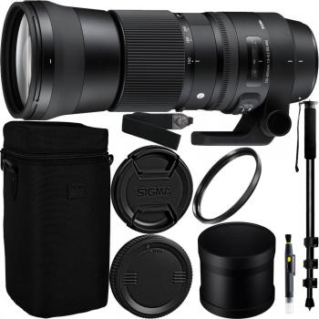 Sigma 150-600mm f/5-6.3 DG OS HSM Contemporary Lens for Nikon F Access