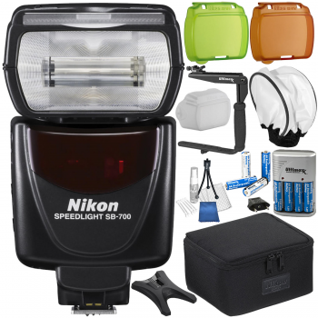 Nikon SB-700 AF Speedlight with 12PC Accessory Bundle