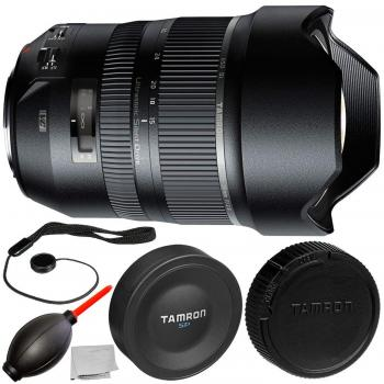 Tamron SP 15-30mm f/2.8 Di VC USD Lens for Canon EF with 3PC Accessory Bundle