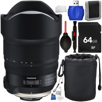 Tamron SP 15-30mm f/2.8 Di VC USD G2 Lens for Nikon F with Accessory B