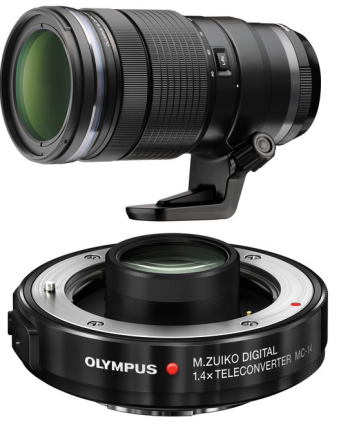 Olympus M.Zuiko Digital ED 40-150mm f/2.8 with MC-14 1.4x Teleconverte