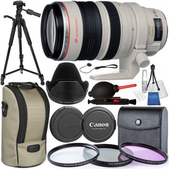 Canon EF 28-300mm f/3.5-5.6L IS USM Lens with Accessory Bundle