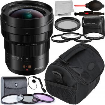 Panasonic Leica DG Vario-Elmarit 8-18mm f/2.8-4 ASPH. Lens with Access