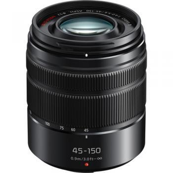 Panasonic Lumix G Vario 45-150mm f/4-5.6 ASPH. MEGA O.I.S. Lens (Open
