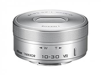 Nikon 1 NIKKOR VR 10-30mm f/3.5-5.6 PD-Zoom Lens (Silver) (Open Box)