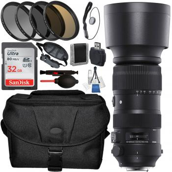 Sigma�60-600mm f/4.5-6.3 DG OS HSM Sports Lens for Nikon F and Accesso