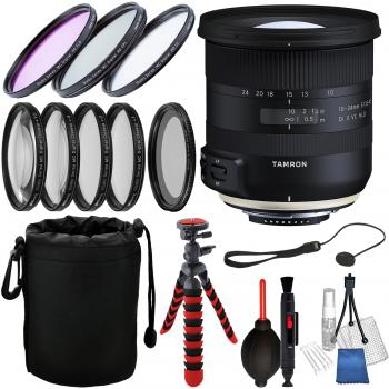 Tamron 10-24mm f/3.5-4.5 Di II VC HLD Lens for Nikon F and Essential A