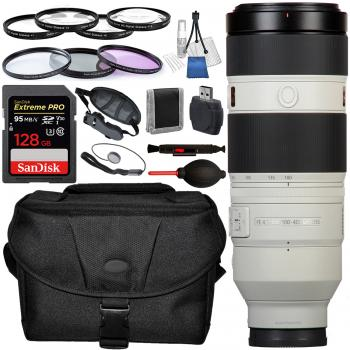 Sony FE 100-400mm f/4.5-5.6 GM OSS Lens with Accessory Bundle