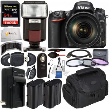 Nikon D750 DSLR Camera with AF-S 24-120mm VR Lens & Essential Accessor