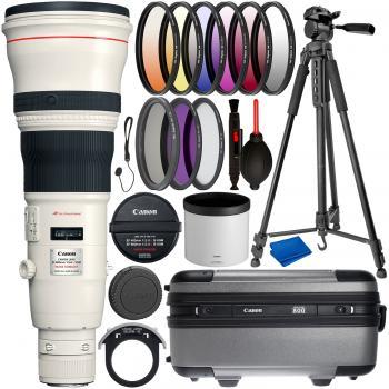 Canon EF 800mm f/5.6L IS USM Lens & Essential Accessory Bundle