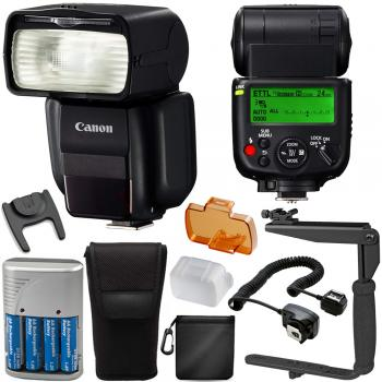 Canon Speedlite 430EX III-RT Flash - 0585C006 Must Have Bundle