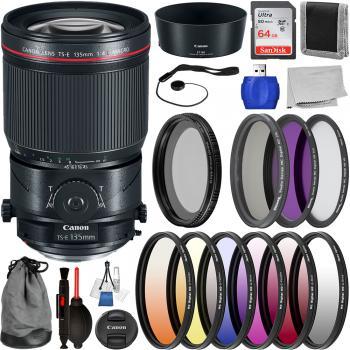 Canon TS-E 135mm f/4L Macro Tilt-Shift Lens - 2275C002 with Deluxe Len