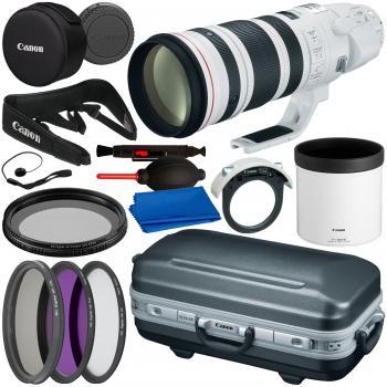 Canon EF 200-400mm f/4L IS USM Extender 1.4x Lens - 5176B002 & Essenti