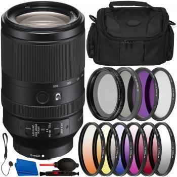 Sony FE 70-300mm f/4.5-5.6 G OSS Lens - SEL70300G & Essential Accessor