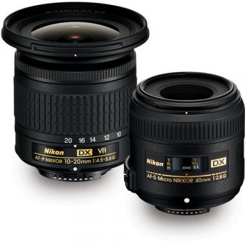 Nikon Landscape & Macro 2 Lens Kit with 10-20mm f/4.5-5.6 and 40mm f/2