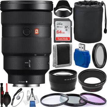 Sony FE 24-70mm f/2.8 GM - SEL2470GM with Accessory Bundle