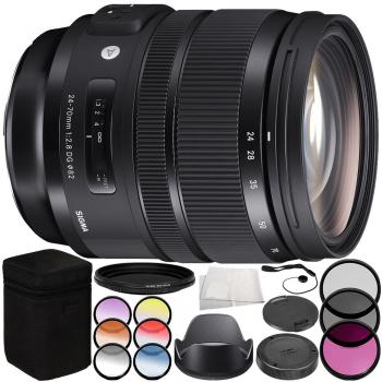 Sigma 24-70mm f/2.8 DG OS HSM Art Lens for Nikon F - 576955 Accessory