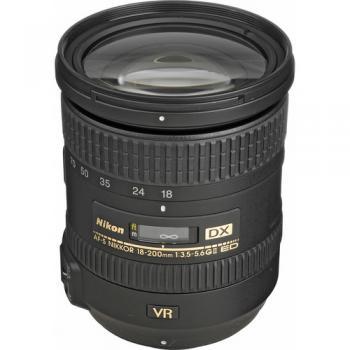 Nikon AF-S DX NIKKOR 18-200mm f/3.5-5.6G ED VR II Lens (Open Box)