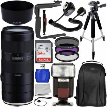 Tamron 70-210mm f/4 Di VC USD Lens for Canon EF - AFA034C-700 Pro Bund