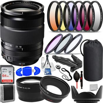 FujiFilm XF 18-135mm f/3.5-5.6 R LM OIS WR Lens - 16432853 with Access