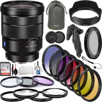 Sony Vario-Tessar T* FE 16-35mm f/4 ZA OSS Lens - SEL1635Z Professiona