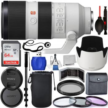 Sony FE 70-200mm f/2.8 GM OSS Lens - SEL70200GM Must Have Bundle