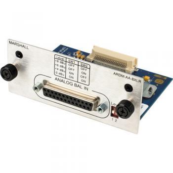 Marshall Electronics ARDM-AA-8XLR Module for AR-DM2-L Audio Monitor