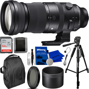 Sigma 150-600mm f/5-6.3 DG DN OS Sports Lens for Sony E with Essential