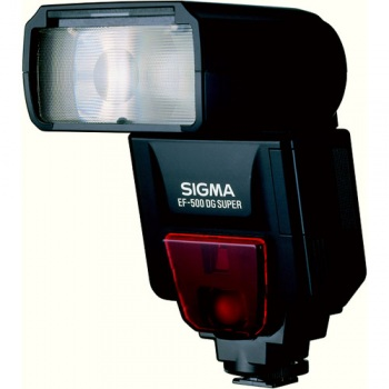 Sigma EF-530 (EF530) DG Super i-TTL Shoe Mount Flash (Guide No. 174/53 m at 105mm) for Nikon with i-TTL