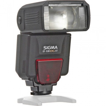 Sigma EF-530 (EF530) DG ST E-TTL Shoe Mount Flash (Guide No. 174'/53 m at 105mm) for Canon EOS with E-TTL II
