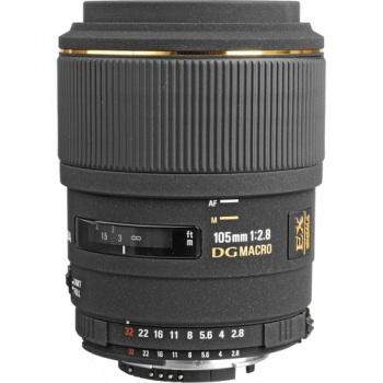 Sigma Telephoto 105mm f/2.8 EX DG OS Macro Autofocus Lens for Canon EOS
