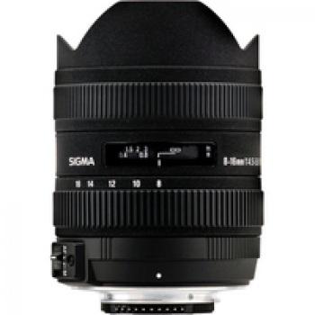 Sigma 8-16mm F4.5-5.6 DC HSM Ultra-Wide Zoom Lens for Select Nikon DSLRs