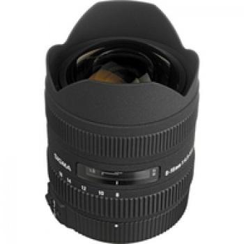 Sigma 8-16mm F4.5-5.6 DC HSM Ultra-Wide Zoom Lens for Pentax Digital SLR