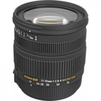 Sigma 17-70mm F2.8-4 DC Macro OS HSM Lens for Canon Digital Cameras