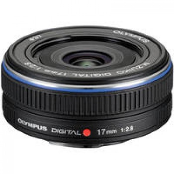 Olympus M.Zuiko Digital 17mm f2.8 Lens for Micro Four Thirds Cameras (Black)