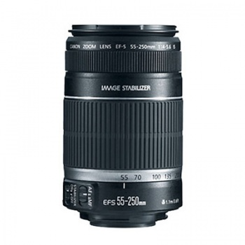 Canon EF-S 55-250mm f/4-5.6 IS II Autofocus Lens for Select Digital SLR Cameras