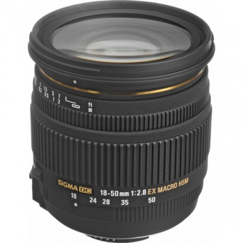 Sigma Zoom Super Wide Angle 18-50mm f/2.8 EX DC HSM Macro Autofocus Lens for Nikon Digital SLR