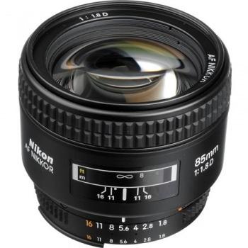 Nikon AF Nikkor 85mm f/1.8G Lens
