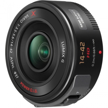 Panasonic Lumix G X Vario PZ 14-42mm f/3.5-5.6 Power O.I.S. Lens (Black)