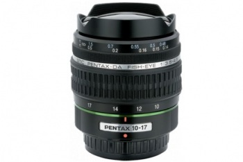 Pentax Zoom Fisheye to Super Wide-Angle SMCP-DA 10-17mm f/3.5-4.5 ED (IF) Autofocus Lens for Digital SLR