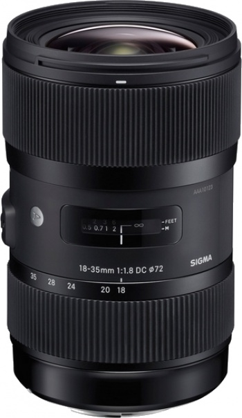 Sigma 18-35mm f/1.8 DC HSM Lens for Pentax